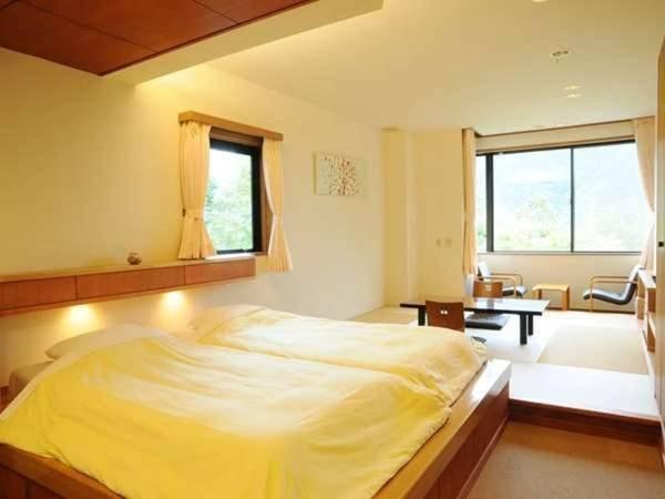 新和洋室シャワー付角部屋禁煙、大文字山側/一例