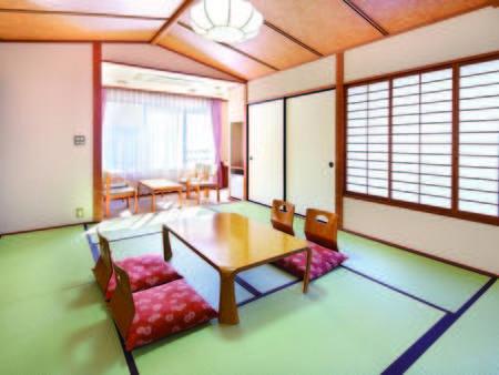 【二間和室/例】 合計16畳と広々で大人気!山眺望※1室3~8名限定