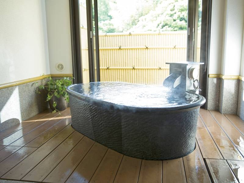 【貸切風呂】全12種あるプライベートな空間で源泉かけ流しの贅沢なひとときを