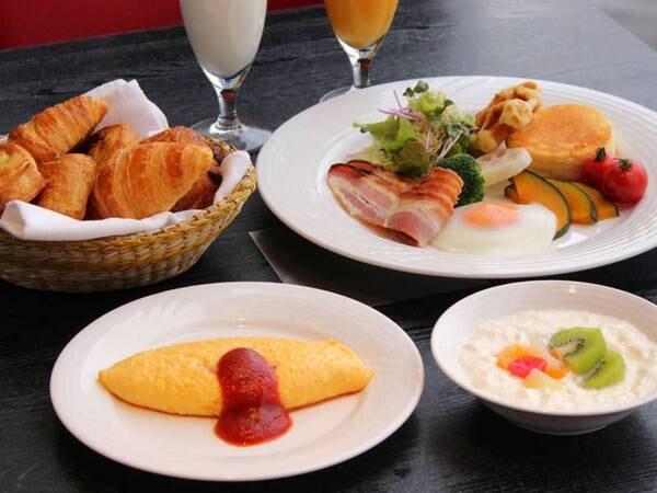 【朝食/例】豊富なメニューよりお好みの物をお好きなだけ、お召し上がりいただけます