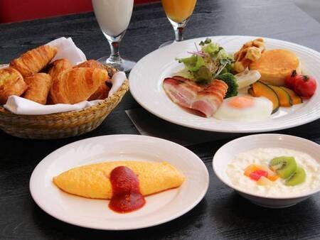 【朝食/例】豊富なメニューよりお選びいただくことで、あなた好みのご朝食をお楽しみいただけます