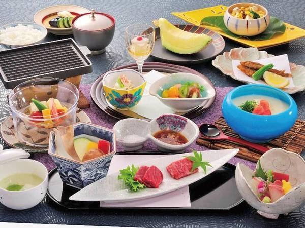 【竹御膳/例】 素材の旨みを活かした全10品の懐石風和食膳