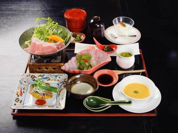 *【夕食】地元・湘南の食材を使った料理長自慢の湘南御膳(一例です)