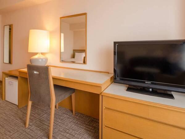 *【洋室ツインルーム】ゆったりとした24平米のお部屋です
