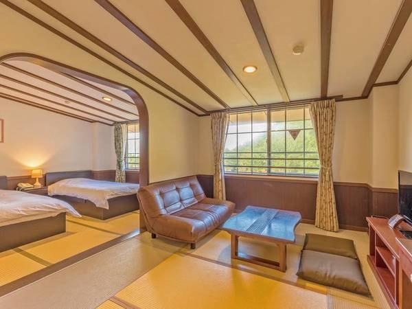 【和洋室/例】広さ36平米でゆったりと寛げる和洋室