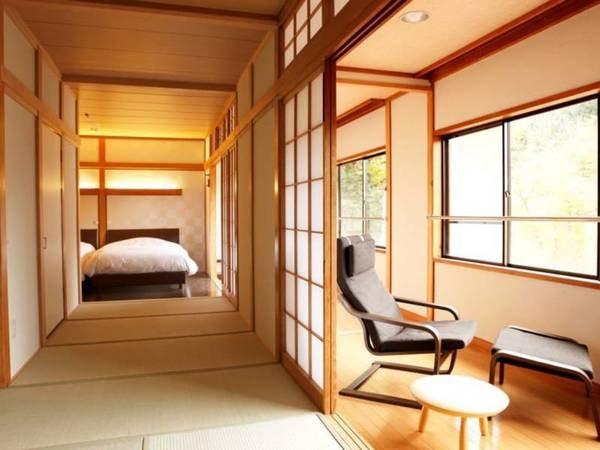 和洋室(11畳+ツインベッド 53㎡)