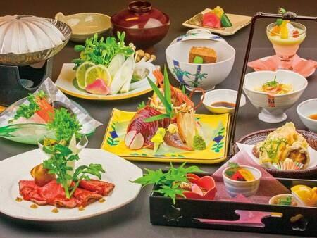 【月替り会席】夕食の一例