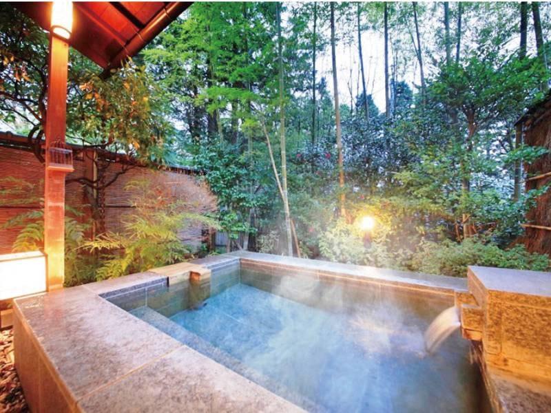 【個室貸切露天風呂/例】数種類の貸切露天をご用意(有料)