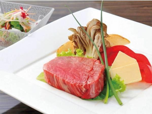【プラン限定特典/例】国産牛ステーキ