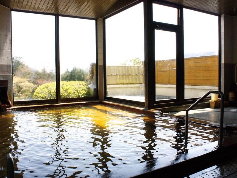 【大浴場】名湯・強羅温泉を満喫できる大浴場