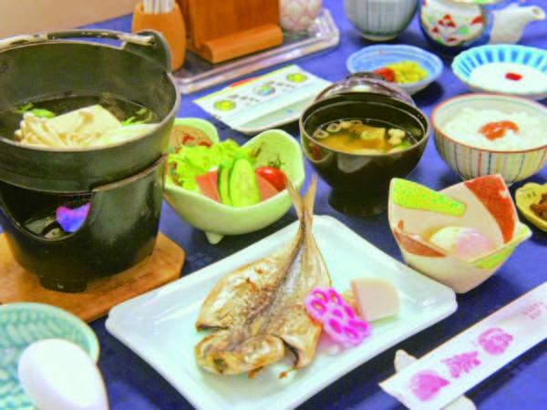 【朝食/例】ご飯が進む和食をご用意