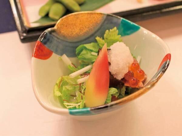 【ある月の夕食一例】季節の小鉢