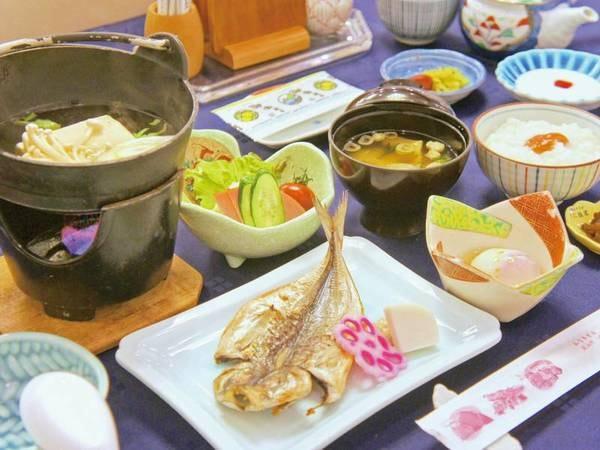 【朝食/例】ご飯がすすむ和食膳