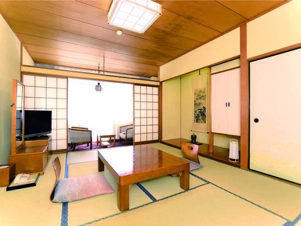 【客室/例】広縁付きでゆったりと寛げる和室をご用意