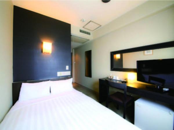 広さ12平米でベッド幅120cmのシングルルーム(例)