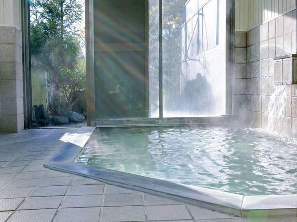 【大浴場】翌朝9時まで入浴可能