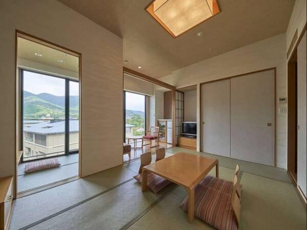 【和室/例】和室は全て庭園側のため、心地よい眺望が愉しめる