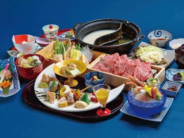 【夕食/例】和牛しゃぶしゃぶをメインに頂ける会席