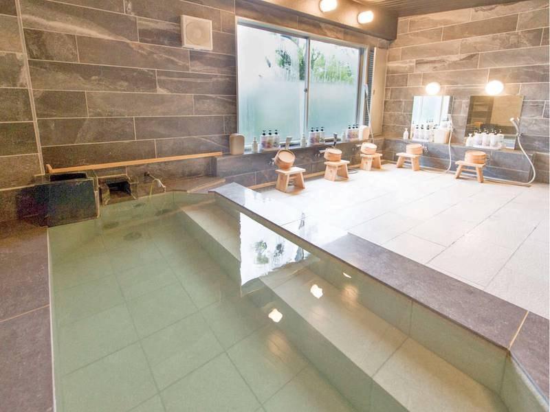 【大浴場】効能豊かな湯につかりのんびりと