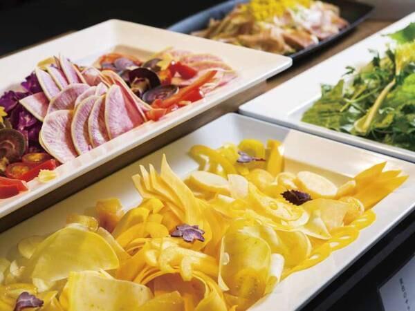 【夕食/例】彩りサラダ