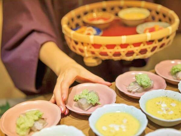 【夕食/例】「自分懐石」をお楽しみ下さい