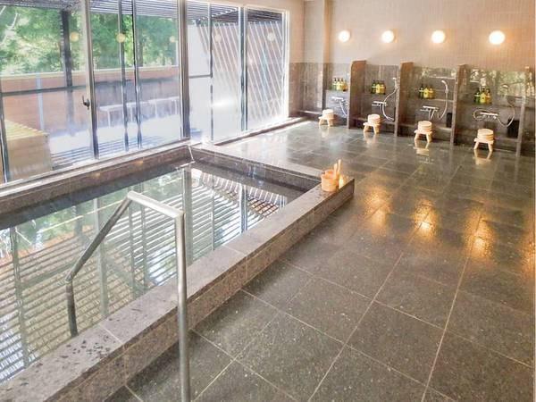【男性大浴場】ゆっくりと元箱根温泉を楽しむ