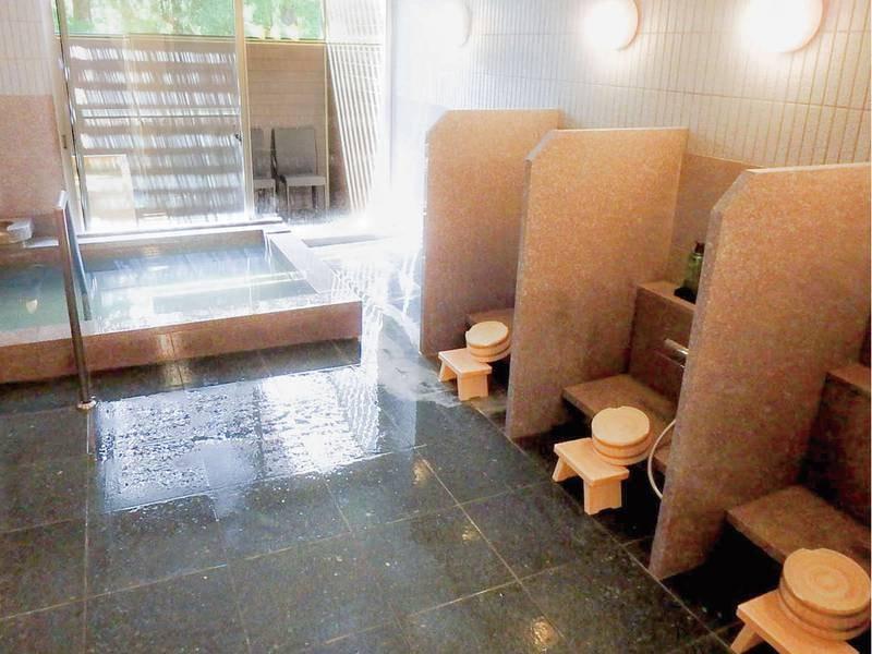 【女性大浴場】体の芯から温まる