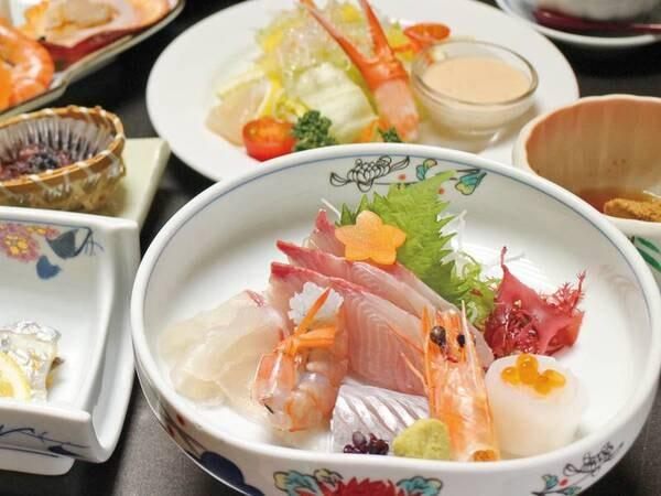 【夕食/例】海の幸を使用した会席
