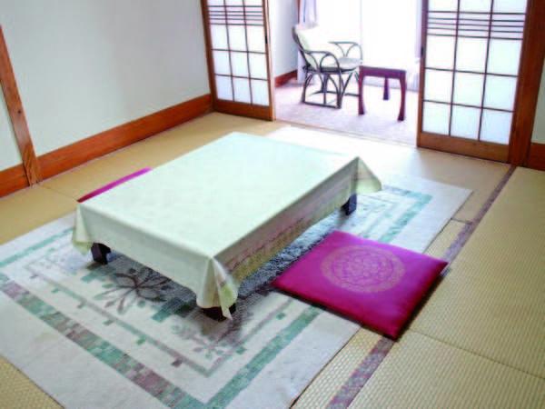 【本館和室/例】6畳以上の海側和室をご用意