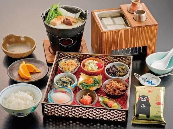 【朝食/例】彩り豊かで健康的