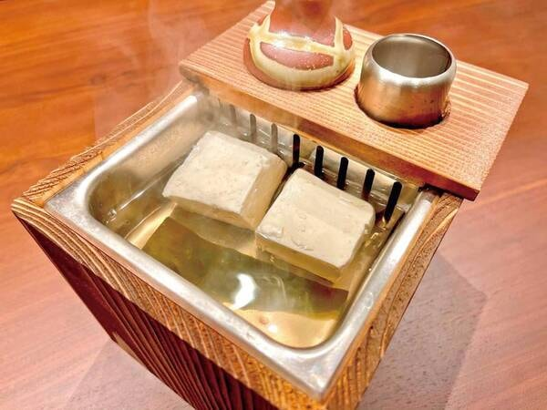 【朝食/例】本格的料理に温まる