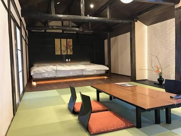和洋室/例 部屋毎に意匠が異なり趣のある空間でゆったりと過ごせる
