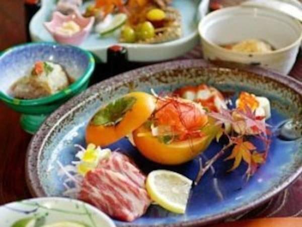 【夢龍胆創作料理/例】一品一品丁寧に創作される調理長渾身の会席、1品ずつの提供