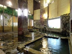 【大浴場】24時間後利用できる天然温泉でゆったり