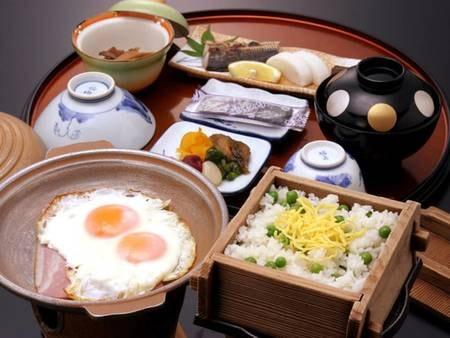 【朝食/例】早起きして食べたい和風朝食