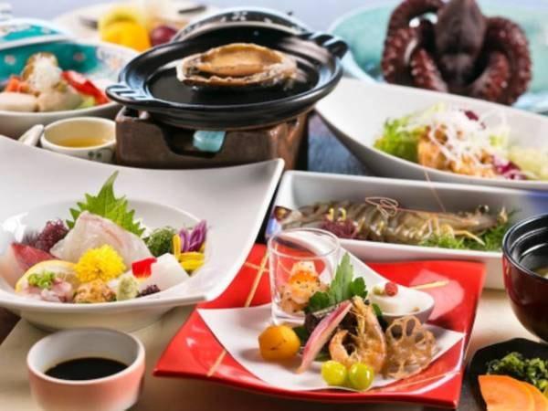 【夕食/例】本館・さらさ館基本夕食