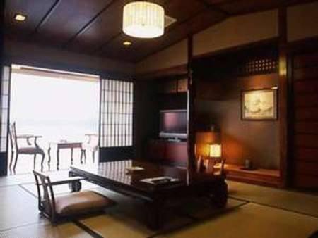 さらさ館・和室【半露天付き客室】/一例
