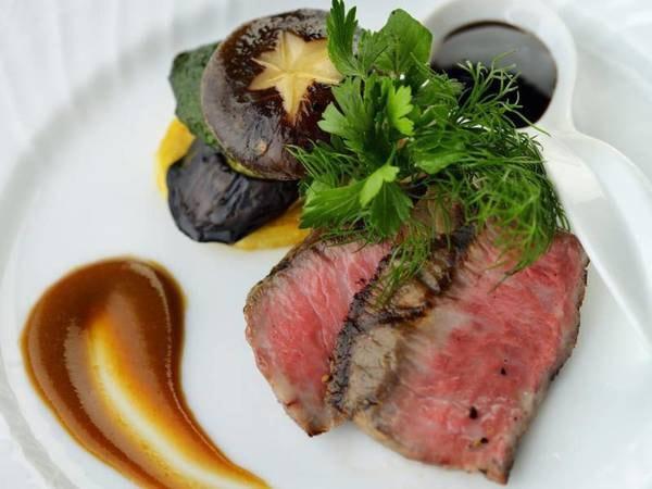 【夕食/例】牛肉を使った一品
