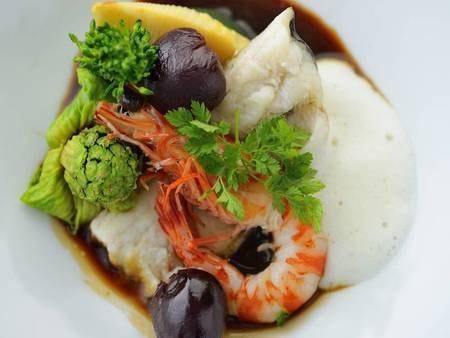 【夕食/例】熊本・天草の自然に育まれた食材を堪能