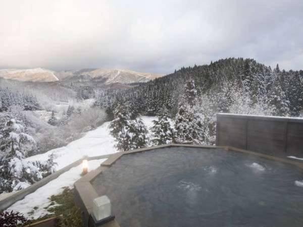 【天空露天】冬は澄んだ空気のもと満天の星空を楽しみながら湯浴み