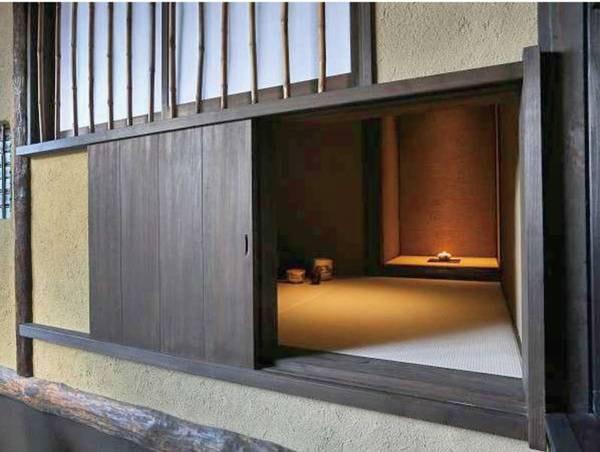 【夢見 yumemi/例】こちらの客室のみ特別に二畳敷きの茶室をご用意