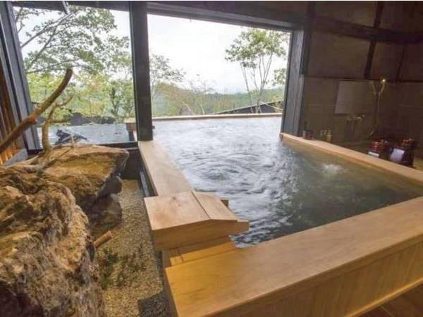 【十六夜 izayoi/例】檜の露天風呂付