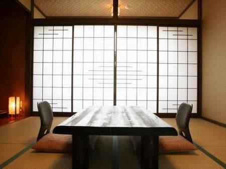 【客室/例】露天風呂・内湯付の二階建て長屋タイプ