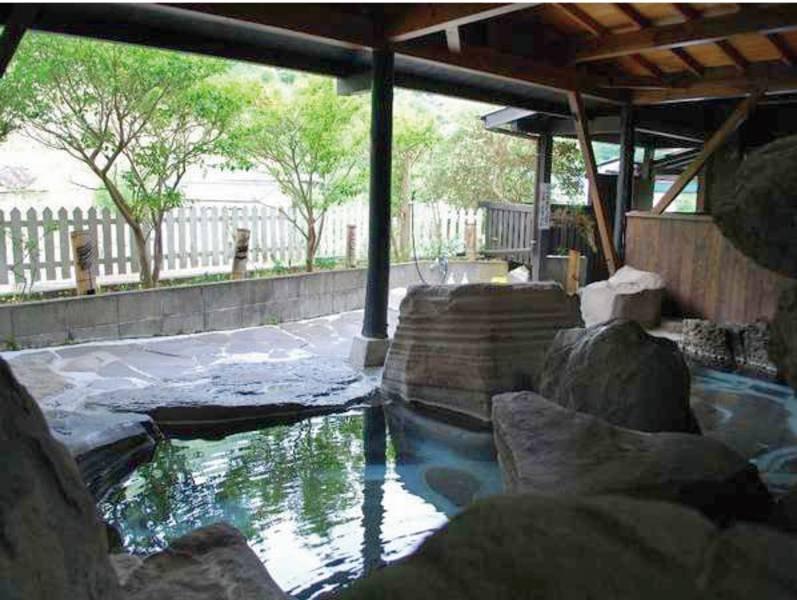 【山ん湯】こちら含め3か所ある貸切風呂は無料で利用可