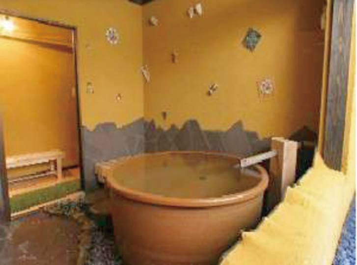 【陶の湯】こちら含め、3か所ある貸切風呂は無料で利用可