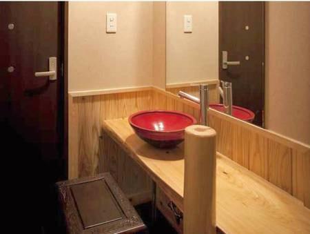 【和洋室洗面所一例】
