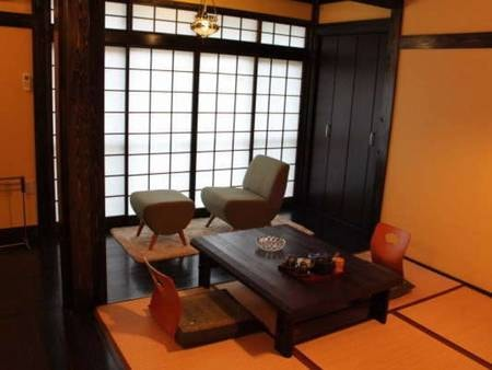 【和モダン客室一例】レトロな雰囲気の和室