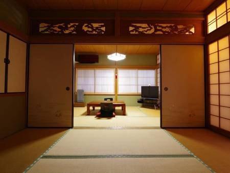【和室/例】6畳+6畳のお部屋