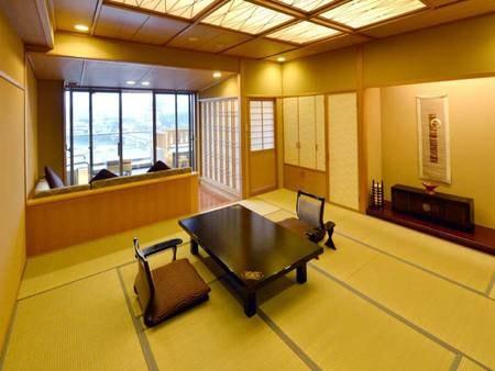 温泉露天風呂付きの和室(12.5畳)/一例