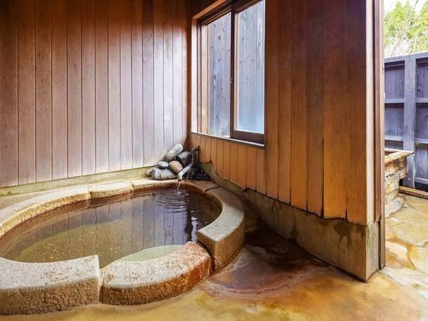 棟割り【小さめ洋室◇ダブル】露天風呂